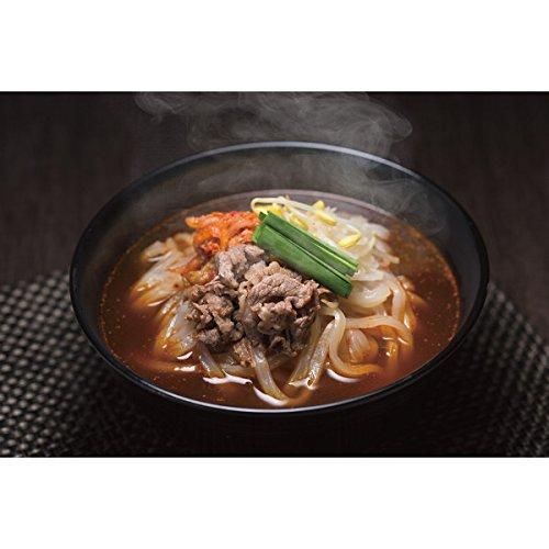 お取り寄せグルメ 韓国料理 人気商品 (韓国風 ユッケジャン うどん 12食)