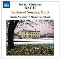 J C Bach: Six Keyboard Sonatas op 5 by Susan Alexander-Max (2011-03-29)