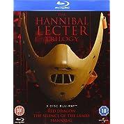 ハンニバル・レクター トリロジー(3部作) コレクション ブルーレイBOX (レッド・ドラゴンのみ、日本語字幕/吹替あり) [Blu-ray] [Import]