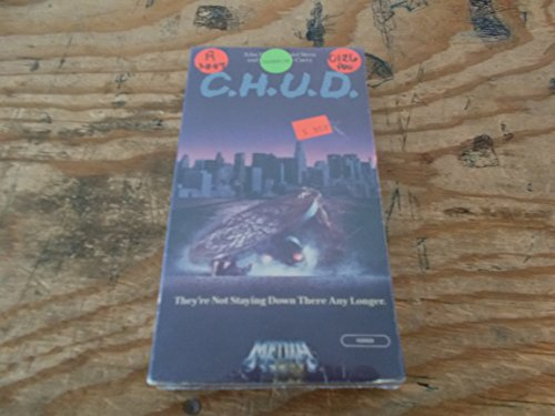 C.H.U.D. [VHS] [Import] John Heard Daniel Stern Christopher Curry Kim Greist Laure Mattos