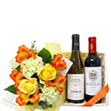Wine and Flowers Gifts / ワインとフラワーギフト
