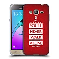 オフィシャル Liverpool Football Club レッド7 You'll Never Walk Alone Samsung Galaxy J3 専用ソフトジェルケース