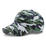 Boundless Voyage 男女兼用 野球帽 綿100% 帽子  56-60cm サイズ調節可能 UVカット 釣り 山登り ランニング ジョギング アウトドア キャップ 全8色(グリーン)