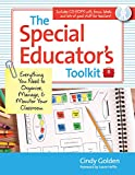The Special Educator's Toolkit: Everything You Need to Organize, Manage, & Monitor Your Classroom 画像