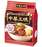 明星 中華三昧広東3食(318g)×4個