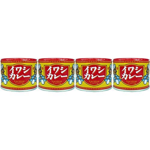 信田缶詰 いわしカレー 190g×4個