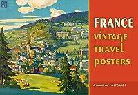 France Vintage Travel Posters Book of Postcards