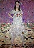 クリムト・「メーダ・プリマヴェージの肖像」 プリキャンバス複製画・ 【ポスター仕上げ】(6号相当サイズ)