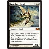 MTG 英語版 M11 悪斬の天使 Baneslayer Angel 白 神話レア 基本セット2011 マジック・ザ・ギャザリング