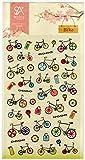 可愛い 自転車 サイクリング シール スケジュールシール ギフトシール ステッカー