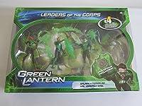 Green Lantern Movie 4 Inch Action Figure 4Pack Leaders of the Corps Salaak, TomarRe, Hal Jordan Stel by Mattel
