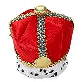 冠 キング 王様 ベルベットの王冠 ハロウィン コスプレ グッズ 大人用 [並行輸入品]