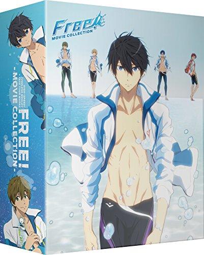 Free! Movie Collection Limited Edition Blu-Ray/DVD(Free! フリー 劇場版3作品 限定版)