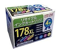 スカイホースジャパン hpプリンター用インク 178XL 4色パック
