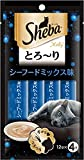 シーバ (Sheba) とろ~り メルティ シーフードミックス味 12g×4P