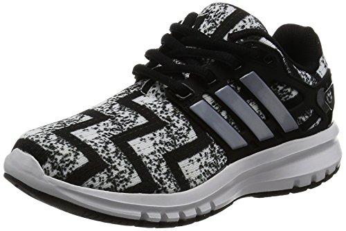 [アディダス]運動靴 KIDS energy cloud K コアブラック/ランニングホワイト/シル...