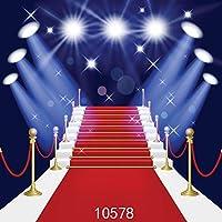 写真撮影のためのGooEoo 8X8FTレッドカーペットステージ背景結婚式の写真撮影の照明のためのデジタル背景カスタマイズされた10578