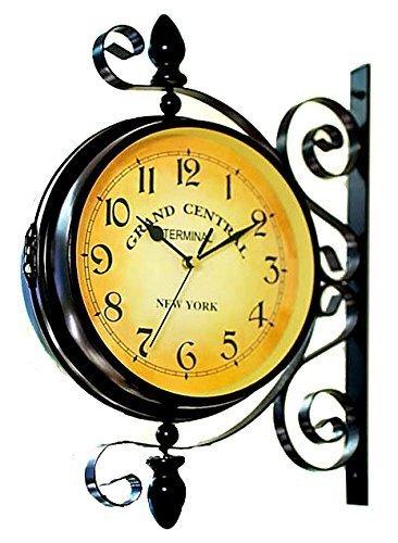 RoomClip商品情報 - 【洋風 掛け時計 ニューヨーク クロック】 インテリア 壁掛け時計 アメリカ インテリア雑貨 【40×40×22cm】