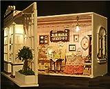 COM★MI-A-008◆DIY あの人に  思い溢れる 手作り ミニチュア  ドールハウス エキゾチックシリーズ---カフェケーキ屋