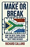 Make or Break: How the Next Three Years Will Shape South Africa's Next Three Decades [並行輸入品] 画像