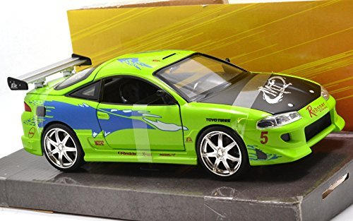 "JadaTOYS 1:24SCALE ""THE FAST AND THE FURIOUS"" ""Brian's MITSUBISHI ECLIPCE"" ジェイダトイズ 1:24スケール「ワイルドスピード」「ブライアン 三菱 イクリプス」 [並行輸入品]"
