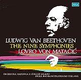ベートーヴェン : 交響曲全集 (Ludwig Van Beethoven : The Nine Symphonies /Lovro Von Matacic | Orchestra Sinfonica E Coro Di Milano Della RAI Radiotelevisione Italiana) (5CD BOX) (Live Recordings)