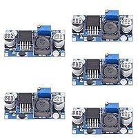 5ピース/ロット電源コンバータステップダウンモジュールlm2596s dc-dc 1.5ボルトの35ボルト調整可能なステップダウン電源モジュール