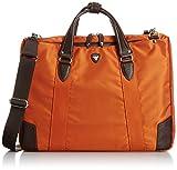 [ウルティマ トーキョー] ultima tokyo ルーカスII ビジネスブリーフバッグ A4サイズ 折り畳み傘収納ファスナーポケット付 51051 14 (オレンジ)