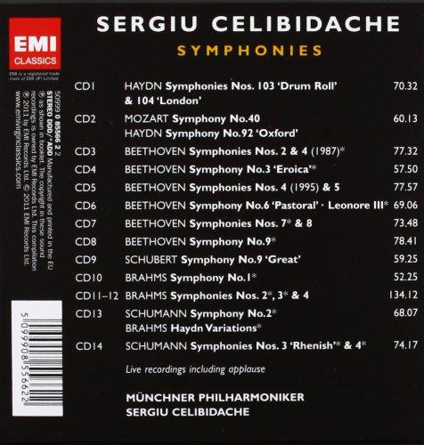 Celibidache: Symphonies