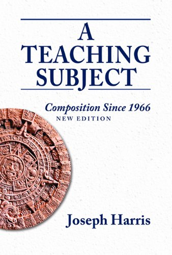 Download A Teaching Subject: Composition Since 1966 0874218667