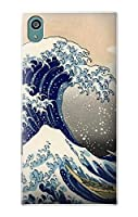 JP2389XZ5 葛飾北斎 神奈川沖浪裏 Katsushika Hokusai The Great Wave off Kanagawa Sony Xperia Z5 ケース