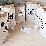 Appliances Packages Best Deals - キッズクラフト紙かわいい収納袋の赤ちゃん動物手紙のおもちゃ服ウォール子供雑貨Tidyのポケット(ランダム:パターン)