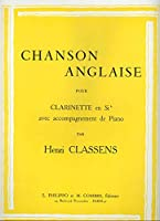 CLASSENS - Chanson Anglaise para Clarinete y Piano