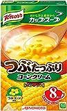 味の素 クノール カップスープ つぶたっぷりコーンクリーム 8袋入 124g×6個