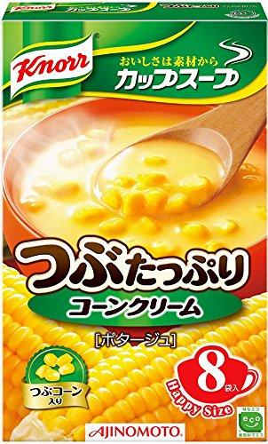 味の素 クノール カップスープ つぶたっぷりコーンクリーム (16.5g×8袋)×6箱入