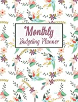 Monthly Budgeting Planner: 2020 Undated Daily Weekly Expense Tracker Bill Organizer Money Journal Personal Financial Workbook Business Planning Worksheets With Yearly Calendar Viloet Flower Notebook For Christmas Gift New Year Present