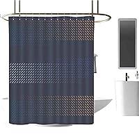 余分に長いシャワーカーテンの浴室の装飾の生地のシャワーカーテンの熱帯 165X180 CM