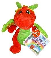 Aurora Legendary Friends 7 Plush Dragon - Red/Green [並行輸入品]