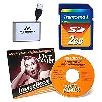 Transcend 2GB SDメモリパッケージ(IncludesカードリーダーとイメージリコールCD)