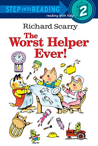Richard Scarry's The Worst Helper Ever! (Step into Reading)の詳細を見る