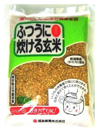 越後製菓 炊ける玄米 500g