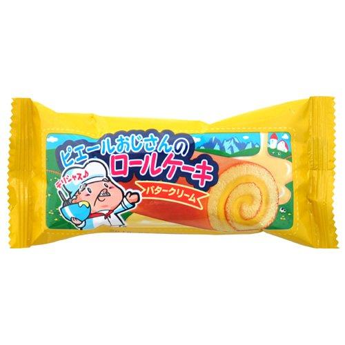 やおきん ロールケーキバタークリーム味 20g×24袋