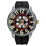 [テンデンス] TENDENCE キングドーム KingDome メンズ ブラックジャック 腕時計 TY023005 ブラック [正規輸入品]