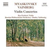 Violin Concertos by MYASKOVSKY/VAINBERG (2004-01-20)