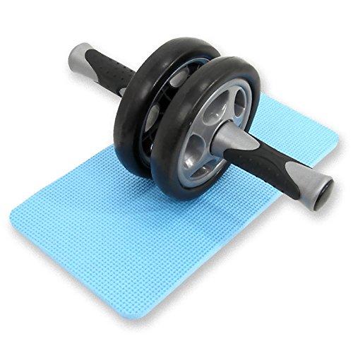 DABADA(ダバダ) 腹筋 ローラー 腹筋トレーニング エクササイズローラー サポートマット付き