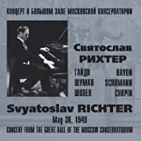 Svyatoslav RICHTER. Recital from the Great Hall of the Moscow Conservatorium, May 30, 1949