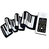 DUWEN キーボード 子供用 手巻 ピアノ ポータブル 88キー 初心者 家庭用 電子ピアノ キーボード
