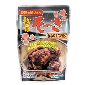 沖縄の味じまん 軟骨そーき ごぼう入 165g オキハム