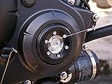 ティーエスアール(TSR) タイミングホールキャップスライダー キャップ部分:シルバーアルマイト/スライダー部分:ジュラコン(黒色) 11330-HW0-0SL