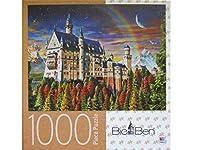 Big Ben Castle Neuschwanstein 1000 Piece Puzzle